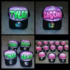 Custom Names on Caps for Dance Crew