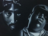 Big/Pac Original painting on a 24x36 inch canvas