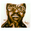 "Stevie Wonder painted LIVE Original 16""x20"" painting"